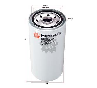 Lọc dầu Sakura HC5502