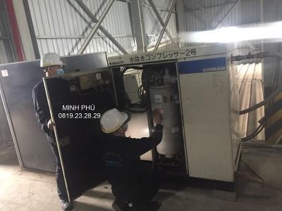 Bảo dưỡng máy nén khí Airman SAS37P tại Nam Định