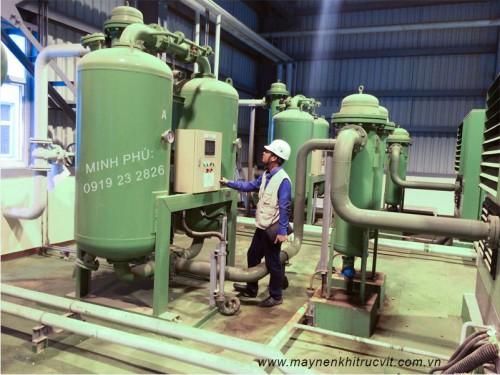 Máy sấy khí hấp thụ GSA (Loại không gia nhiệt).