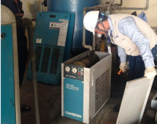 Máy sấy khí hoạt động như thế nào?