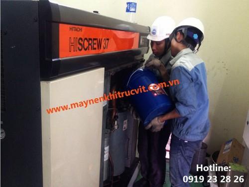 Cách vận hành máy nén Hitachi