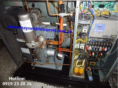 Hướng dẫn cách nối dây điện máy nén khí Hitachi