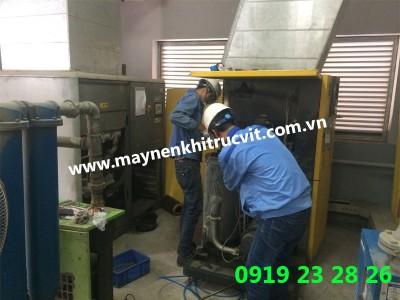An toàn khi sử dụng máy nén khí Kaeser