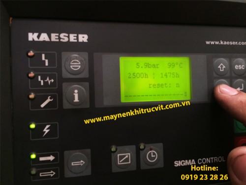 Thiết kế và chức năng máy nén khí Kaeser