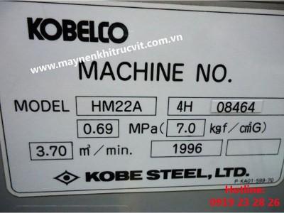Thông số bên trong máy nén khí Kobelco
