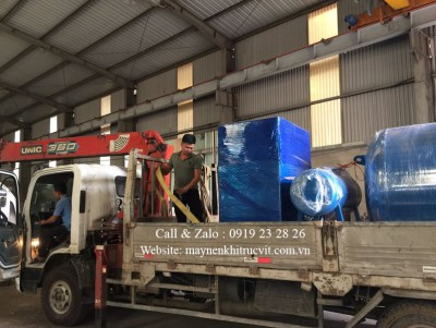 Vận chuyển và lắp đặt máy nén khí Kobelco như thế nào?