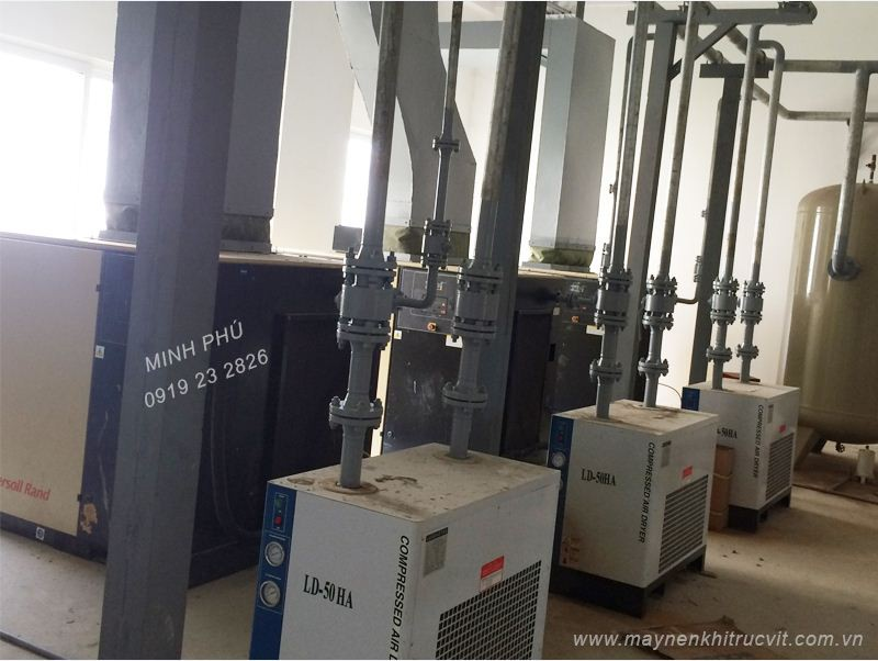 Lắp đặt máy sấy khí tác nhân lạnh