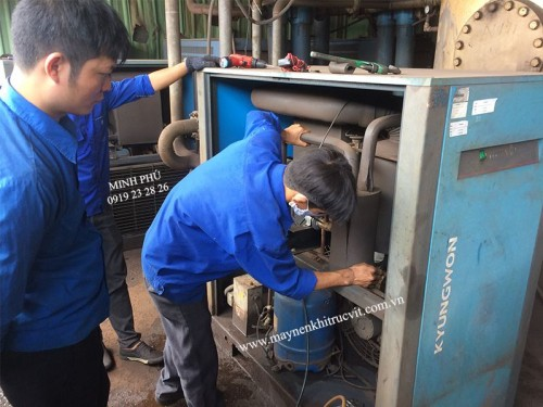 How to operate air dryer?