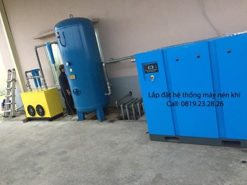 Lắp đặt hệ thống khí nén tiêu chuẩn tại KCN Bình Xuyên Vĩnh Phúc