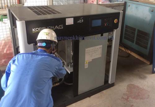 Phát hiện lỗi và sửa chữa máy nén khí Kobelco dòng AG và SG