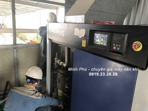 Chế độ vận hành máy nén khí Kobelco AG370