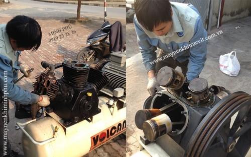 Bảo dưỡng, sửa chữa máy nén khí Piston