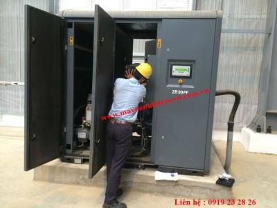 Lịch trình bảo dưỡng máy nén khí Atlas Copco GA37, GA45, GA75, GA55,