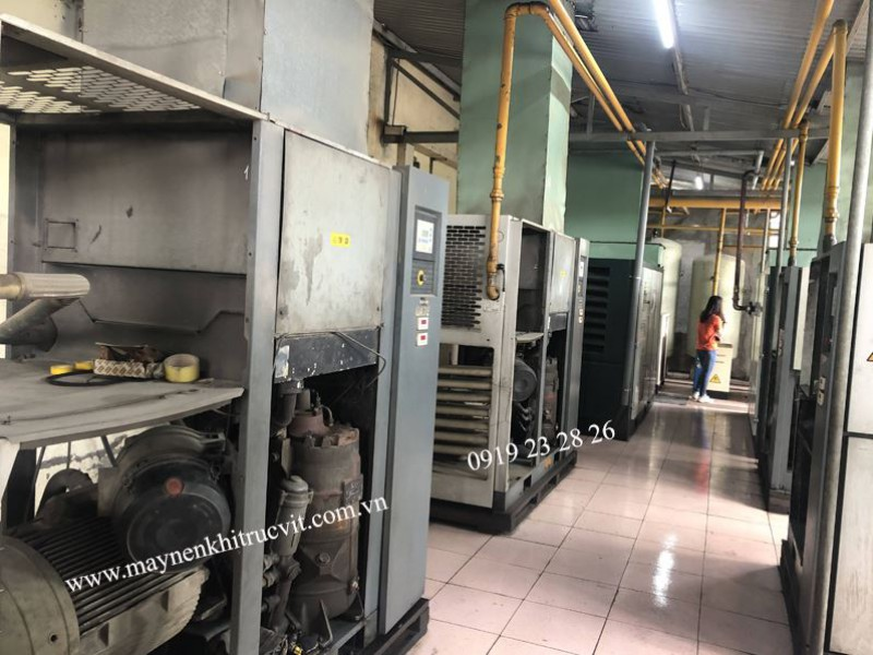 Hướng dẫn thay dầu và lọc dầu cho máy nén khí Atlas copco