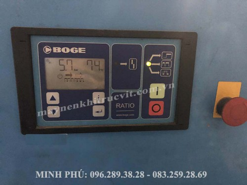 4 loại ký hiệu cảnh báo trên máy nén khí BOGE