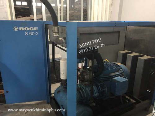 Sửa chữa và bảo dưỡng máy nén khí Boge - Đức