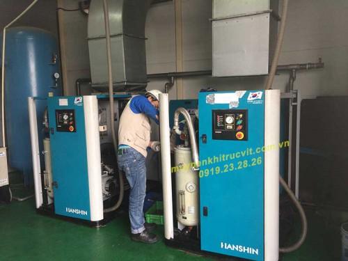Khắc phục sự cố cảm biến nhiệt độ máy nén khí