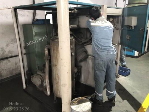 Bảo dưỡng máy nén khí trục vít Hanshin AL2