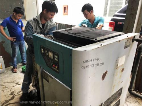 Bảo dưỡng máy nén khí Hanshin GRH3GS-30A, GRH3GS-50A, GRH3GS-100A