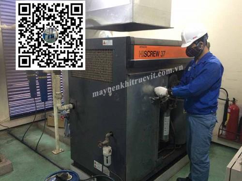 Tiêu chuẩn (A) trong bảo dưỡng máy nén khí Hitachi