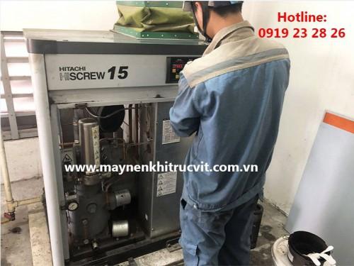 Các cách khắc phục sự cố máy nén khí Hitachi