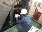 Thay tách dầu - Bảo dưỡng máy nén khí Hitachi