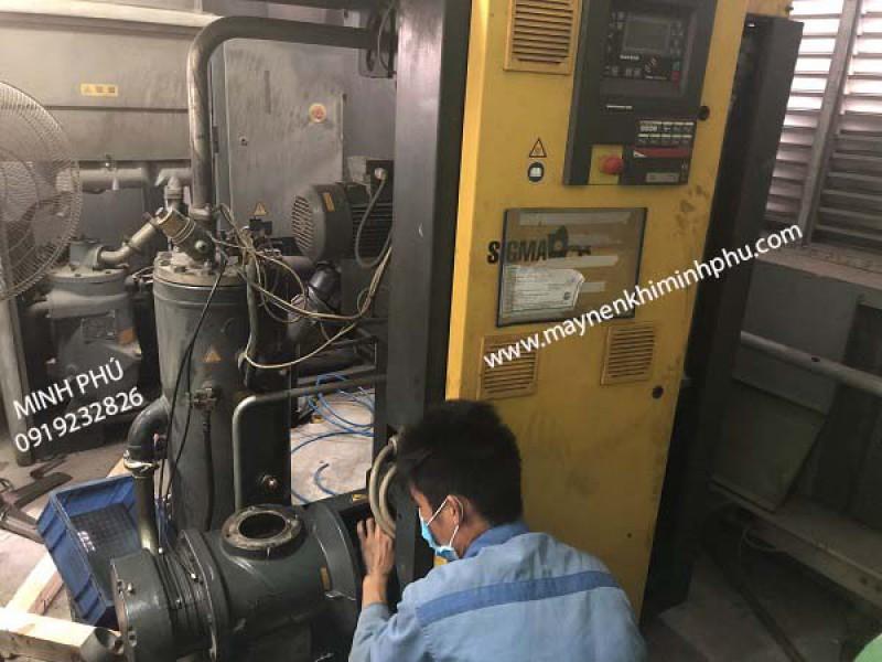 Bảo dưỡng máy nén khí Kaeser BSD 72 - Germany