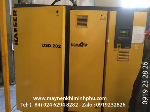 Kaeser DSD 202 air compressor  repair and maintenance