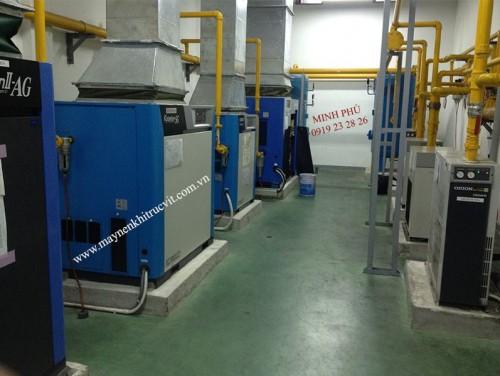 Kobelco air compressor maintenance