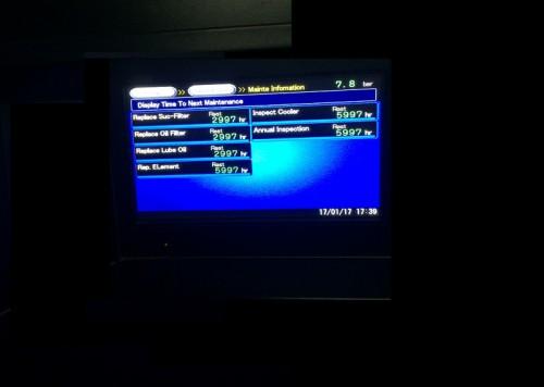 Hướng dẫn sử dụng màn hình điều khiển máy nén khí Kobelco AG370