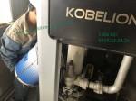 Hướng dẫn thay dầu máy nén khí Kobelco