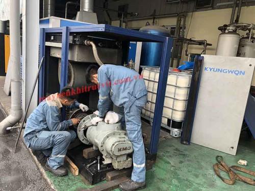 Thông số kỹ thuật điện tử máy nén khí Kyungwon AC series