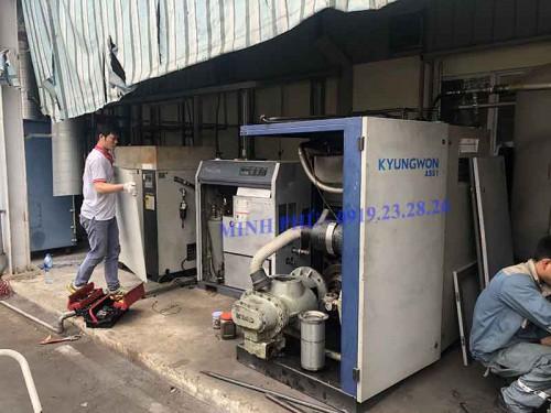 Hướng dẫn nối hệ thống điện máy nén khí Kyungwon