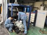 Kiểm tra bảo dưỡng định kì máy nén khí Kyungwon