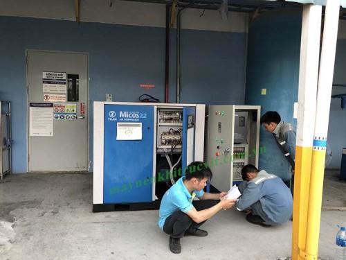 Sửa chữa mạch điện máy nén khí công nghiệp