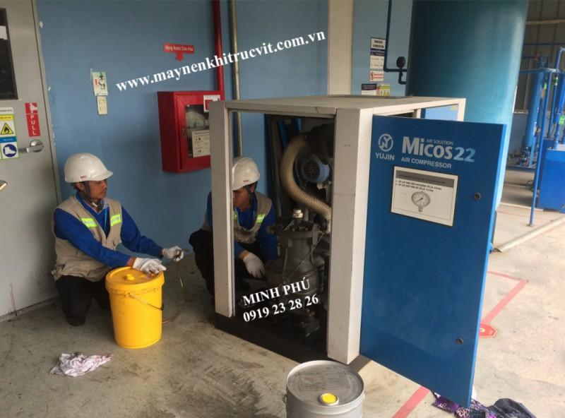 Bảo dưỡng máy nén khí Micos 22, Micos 22D