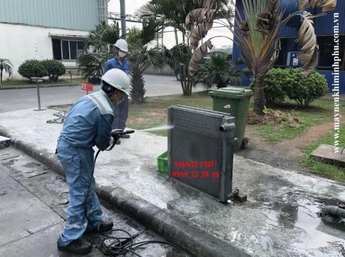 Bảo dưỡng máy nén khí Micos 75 Hàn Quốc