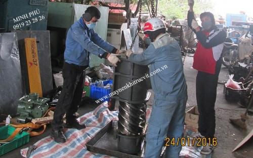 Compressors equipment repairs