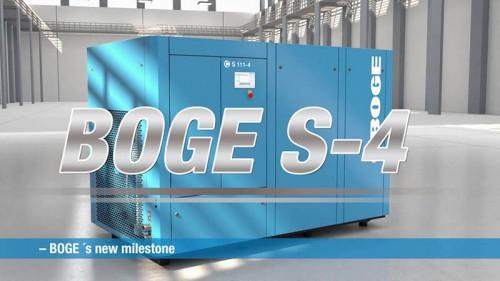 Catalogue máy nén khí BOGE S-4 Series