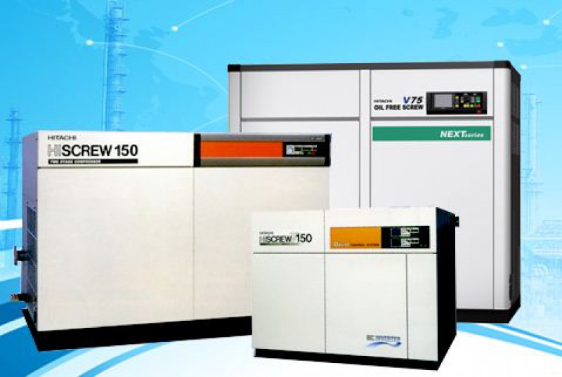 Catalog of Hitachi air compressor