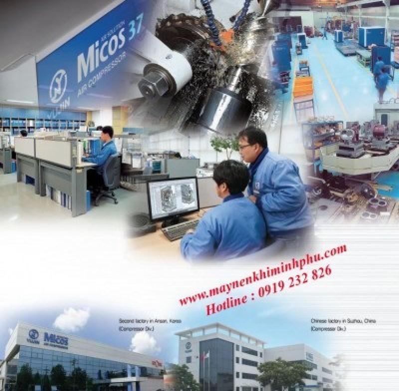 Catalog of  Micos air compressor