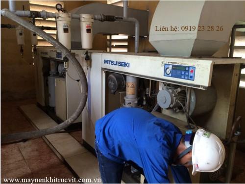 Catalog máy nén khí trục vít Mitsui Seiki