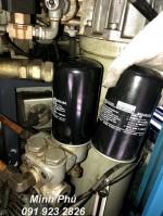 Hướng dẫn thay lọc dầu cho máy nén khí Kobelco