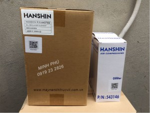 Tách dầu máy nén khí Hanshin GRH3-50A