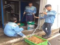Vệ sinh và súc rửa dàn giải nhiệt máy nén khí