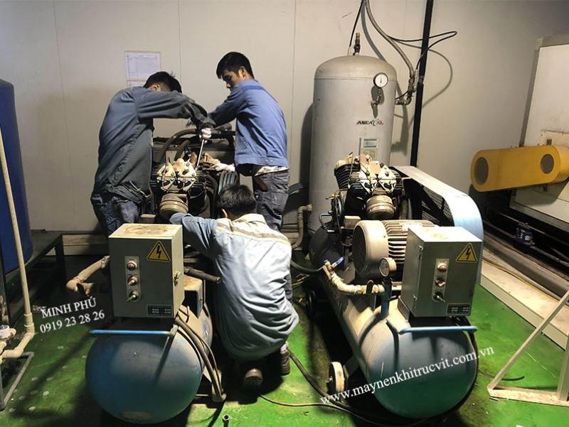 Sửa chữa máy nén khí Piston