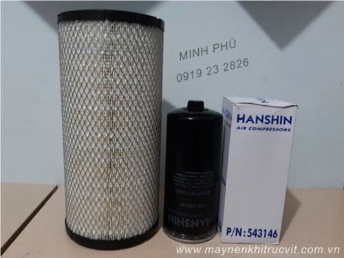 Lọc dầu máy nén khí Hanshin GRH3GS - 50A