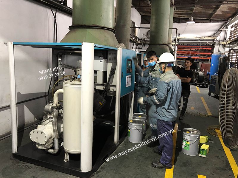bao duong may nen khi hanshin, Maintenance compressed air sytem