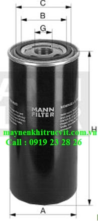 loc dau mann filter wd940,Mann oil filter  WD940