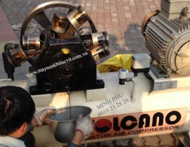 Repair and mintenance of Piston air compressor